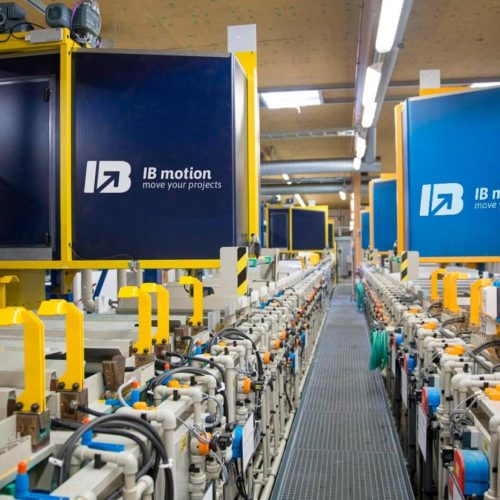 Realizzazione Carri Galvanici | Lombardia | Brescia |IB MOTION | Interno Operativo