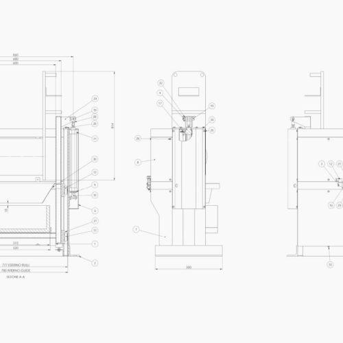 Progettazione Carri Galvanici | Lombardia | Brescia | IB Motion | Immagini di progettazione